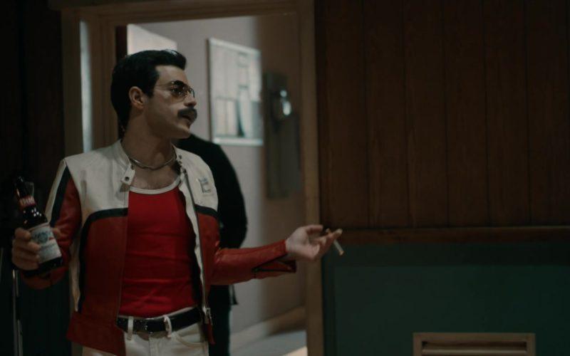Budweiser Beer Drunk by Rami Malek (Freddie Mercury) in Bohemian Rhapsody
