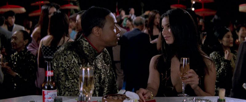 Budweiser Beer in Rush Hour 2 (2001) Movie Product Placement