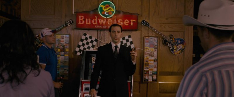 Budweiser Neon Signs in Talladega Nights: The Ballad of Ricky Bobby (2006) - Movie Product Placement