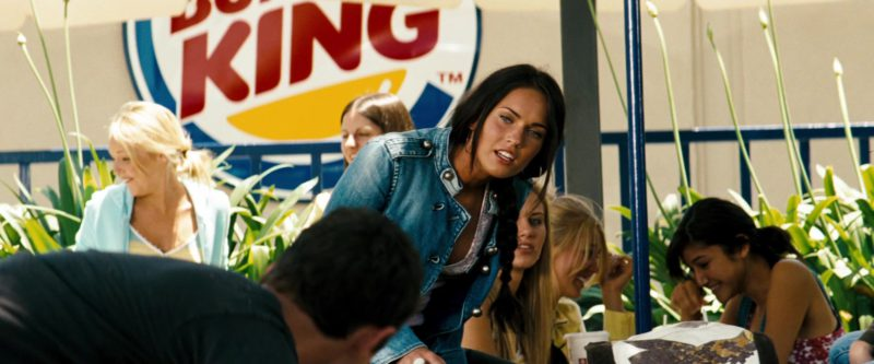Burger King in Transformers (2007) - Movie Product Placement