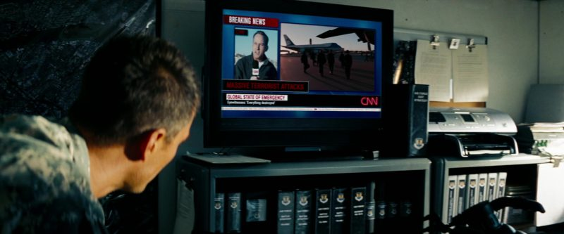 CNN TV Channel in Transformers: Revenge of the Fallen (2009) - Movie Product Placement