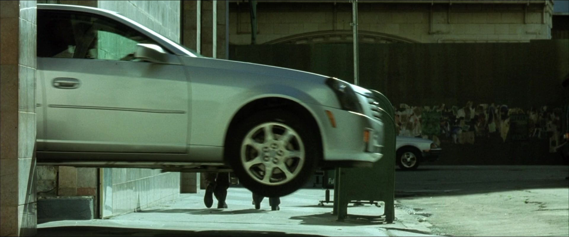 Cadillac Cts Car In The Matrix Reloaded 2003