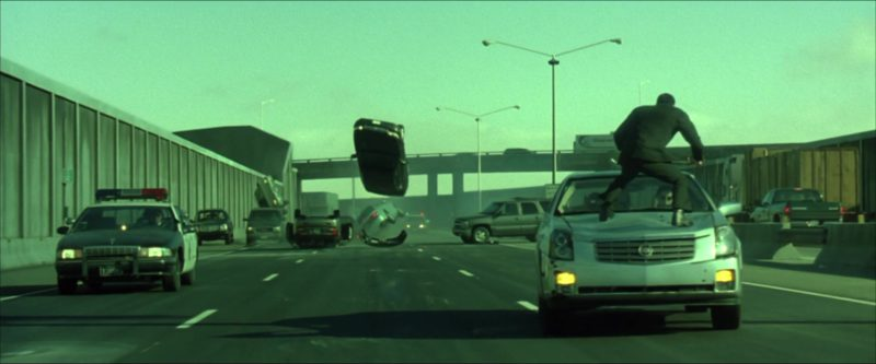 Cadillac CTS Car in The Matrix Reloaded (2003) - Movie Product Placement
