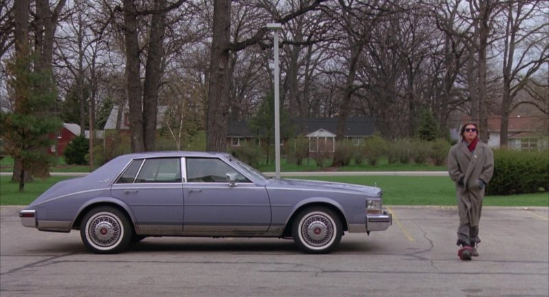 Cadillac Seville Car in The Breakfast Club (1985) Movie Product Placement