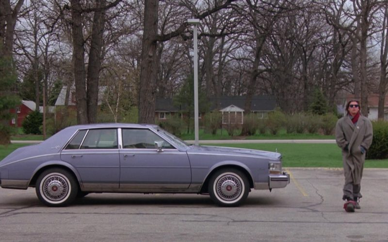 Cadillac Seville Car in The Breakfast Club