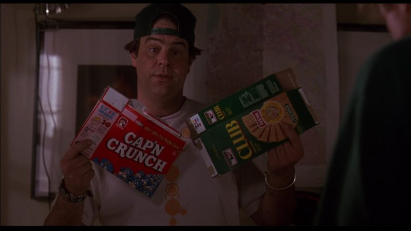 Cap'n Crunch and Club Crackers in Sneakers (1992) Movie Product Placement