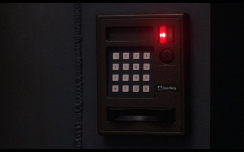 Cardkey Electronic Access Control System in WarGames (1)