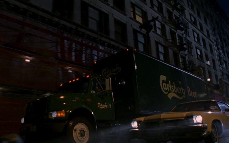 Carlsberg Beer Truck in Spider-Man (2)