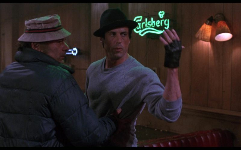Carlsberg Sign in Rocky 5 (2)