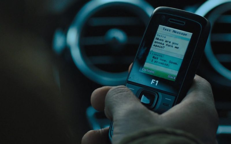 Cell Phone Mobiwire F1 Black Used by Lakeith Stanfield in The Girl in the Spider's Web (1)