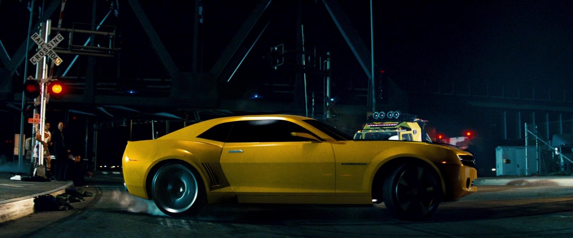 List Of Car Brands >> Chevrolet Camaro Yellow Car in Transformers (2007) Movie