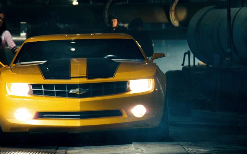 Chevrolet Camaro Yellow Car in Transformers (20)