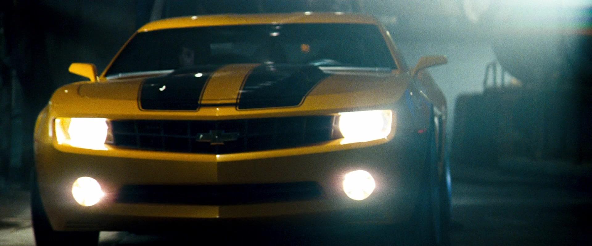 Used Car Dealership >> Chevrolet Camaro Yellow Car in Transformers (2007) Movie