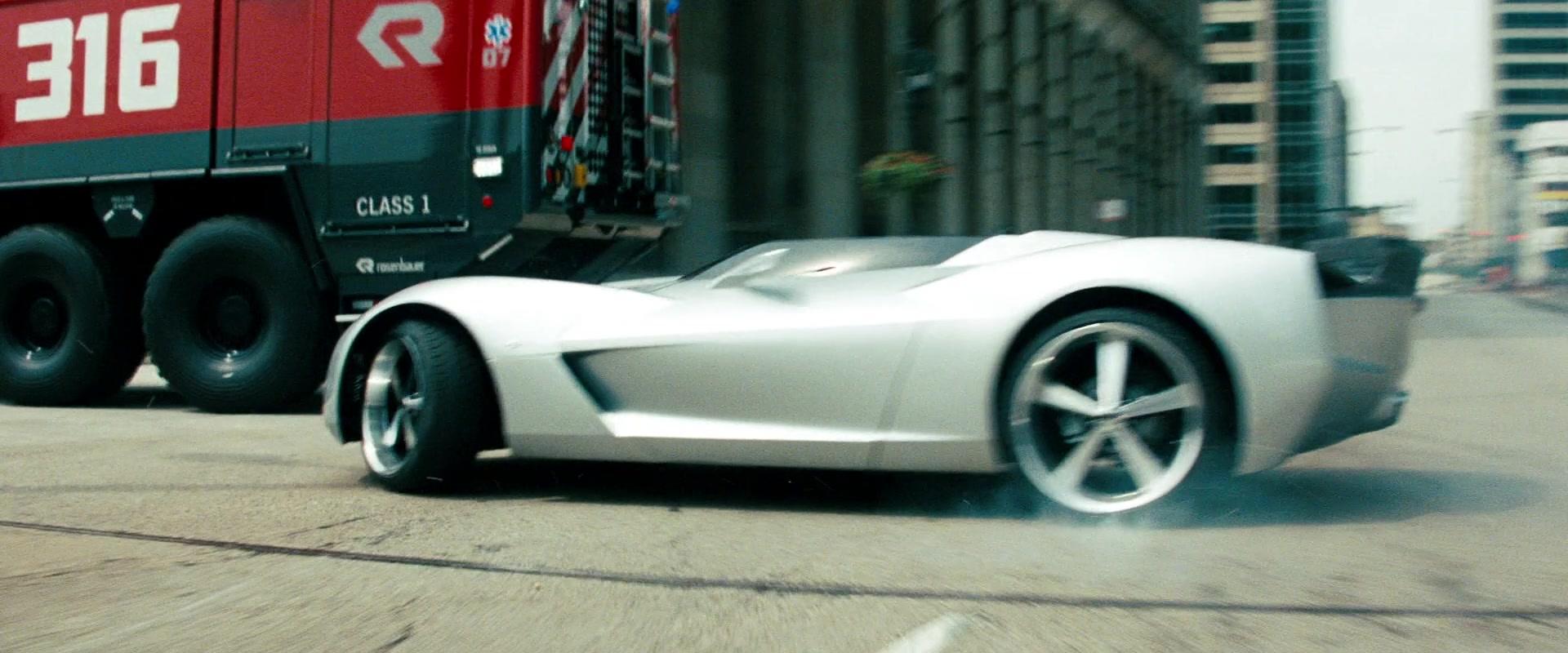 Used Corvette Stingray >> Chevrolet Corvette Stingray Speedster Concept in Transformers: Dark of the Moon (2011) Movie