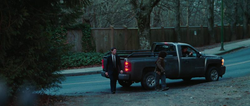Chevrolet Silverado Truck in The Day the Earth Stood Still (2008) Movie Product Placement