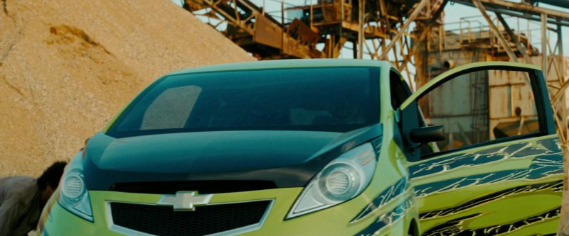 Chevrolet Spark Car in Transformers: Revenge of the Fallen (2009) - Movie Product Placement