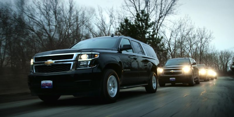 Chevrolet Suburban Vehicles in Polar (2019) Movie Product Placement