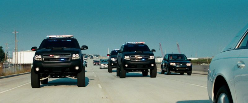 Chevrolet Suburban in Transformers: Dark of the Moon (2011) - Movie Product Placement