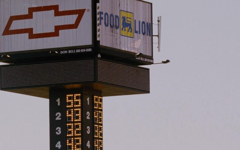 Chevrolet and Food Lion in Talladega Nights The Ballad of Ricky Bobby