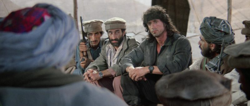 Chronosport UDT Type II Men's Wrist Watch Worn by Sylvester Stallone in Rambo 3 (1988) - Movie Product Placement