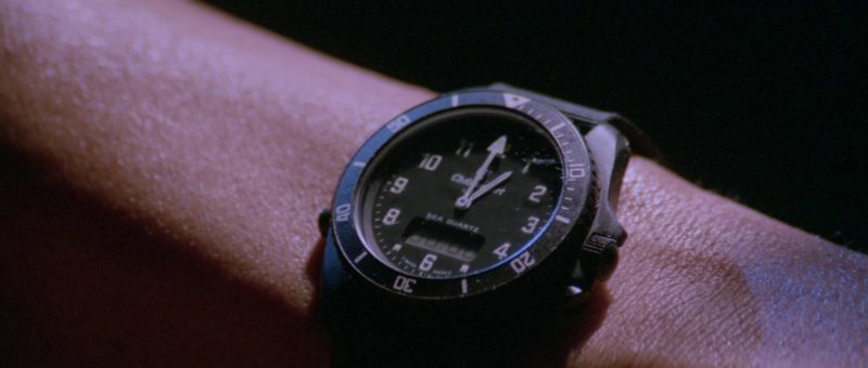 Chronosport UDT Type II Men's Wrist Watch Worn by Sylvester Stallone in Rambo 3 (1988) Movie Product Placement