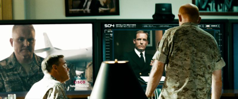 Cisco TelePresence in Transformers: Revenge of the Fallen (2009) - Movie Product Placement
