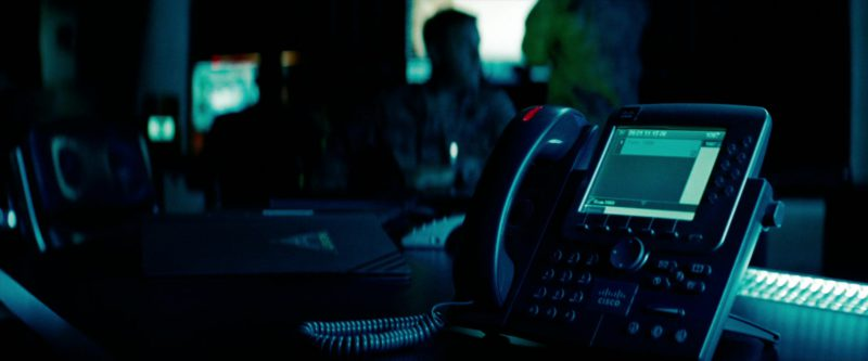 Cisco Telephone in Transformers: Revenge of the Fallen (2009) - Movie Product Placement