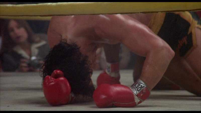 Cleto Reyes Boxing Gloves Worn by Sylvester Stallone (Rocky Balboa) in Rocky 2 (1979) - Movie Product Placement
