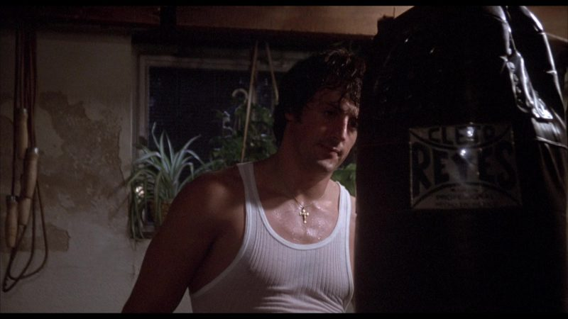 Cleto Reyes Boxing Leather Punching Bag Used by Sylvester Stallone (Rocky Balboa) in Rocky 2 (1979) - Movie Product Placement