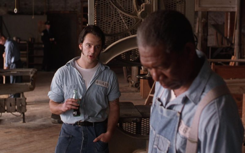 Coca-Cola Bottle Held by Gil Bellows in The Shawshank Redemption (1)