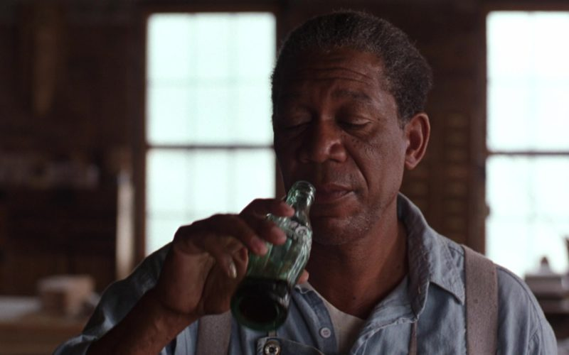 Coca-Cola Bottle Held by Morgan Freeman in The Shawshank Redemption (3)
