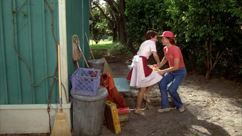 Coca-Cola Box in Caddyshack (1980) Movie Product Placement