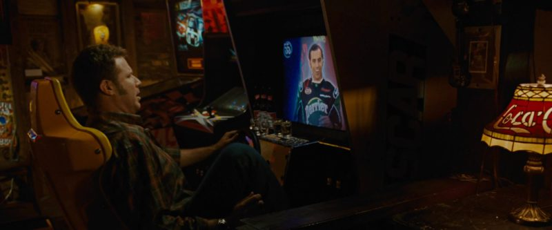 Coca-Cola Lamp Shade in Talladega Nights: The Ballad of Ricky Bobby (2006) - Movie Product Placement
