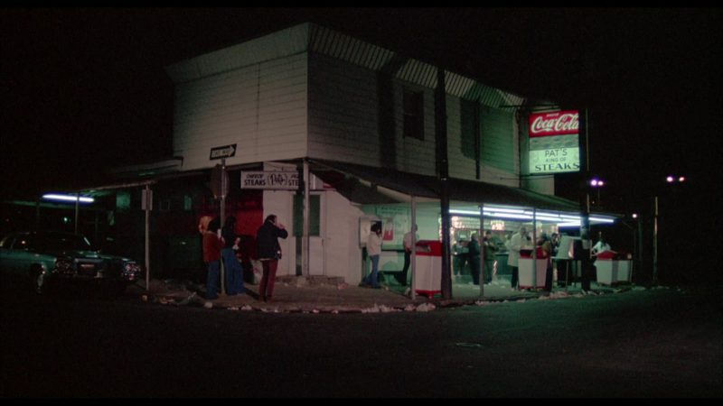 Coca-Cola Sign in Rocky (1976) Movie Product Placement