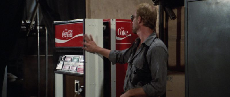 "Coca-Cola Vending Machine ""Have a Coke"" in Rambo: First Blood Part 2 (1985) Movie Product Placement"