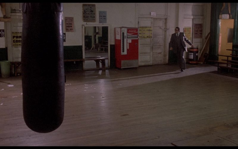 Coca-Cola Vending Machine in Rocky 2