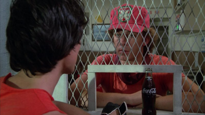 Coca-Cola Bottle in Caddyshack (1980) Movie Product Placement