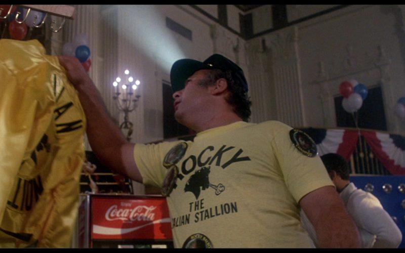 Coca-Cola in Rocky 3