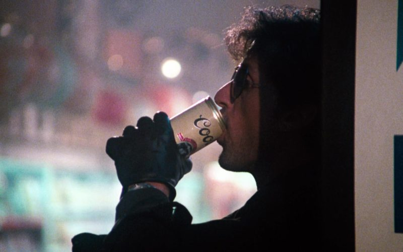 Coors Beer Drunk by Sylvester Stallone in Cobra (1)