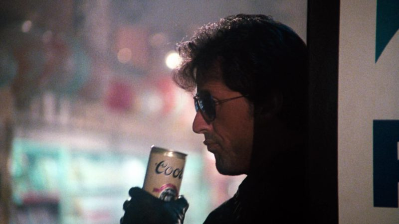 Coors Beer Drunk by Sylvester Stallone in Cobra (1986) Movie Product Placement