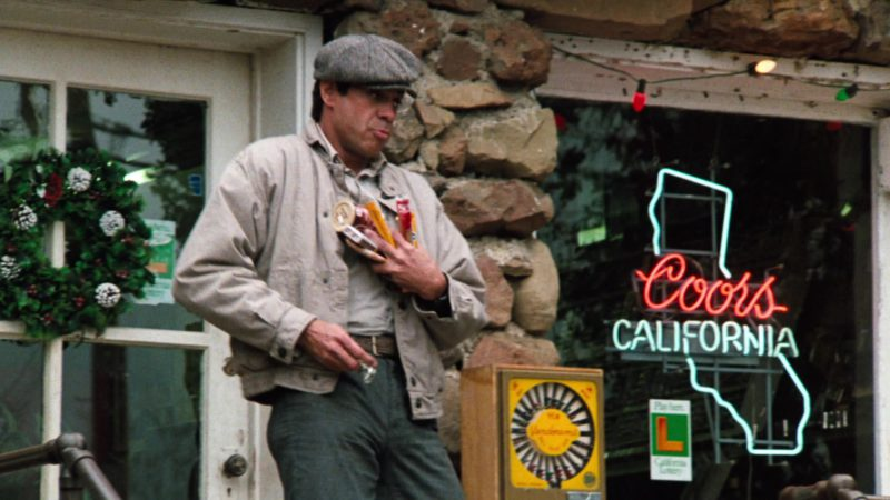 Coors Beer Sign in Cobra (1986) - Movie Product Placement