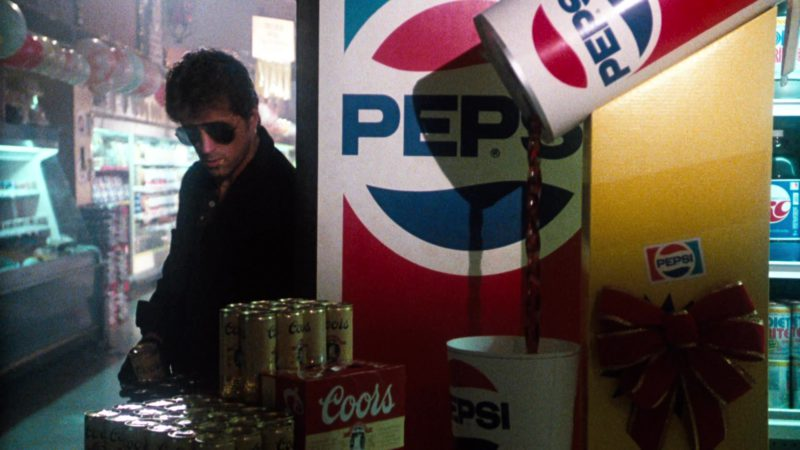 Coors Beer and Pepsi in Cobra (1986) - Movie Product Placement