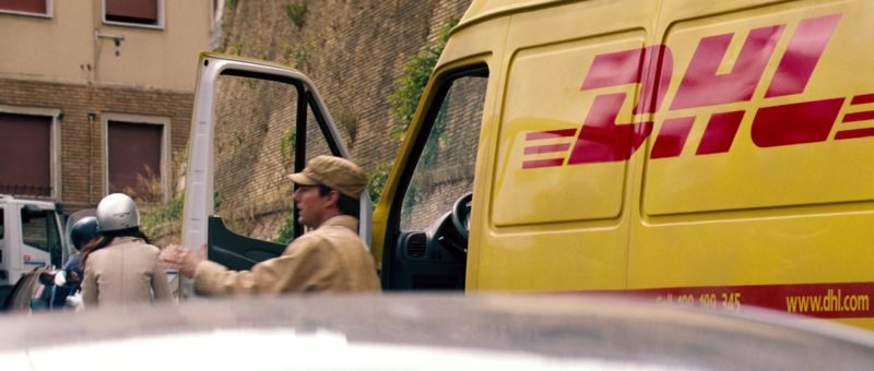 DHL in Mission: Impossible III (2006) - Movie Product Placement