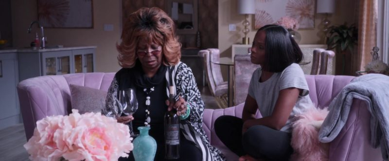Darjean Jones Wine Held by Whoopi Goldberg in Nobody's Fool (2018) Movie Product Placement