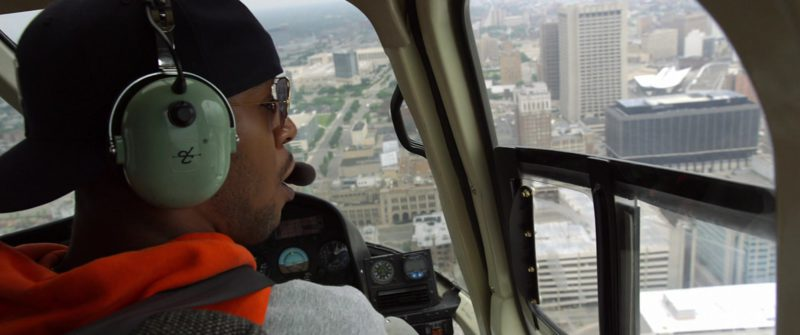 David Clark Helicopter Headset Used by Kid Cudi in Need for Speed (2014) Movie Product Placement