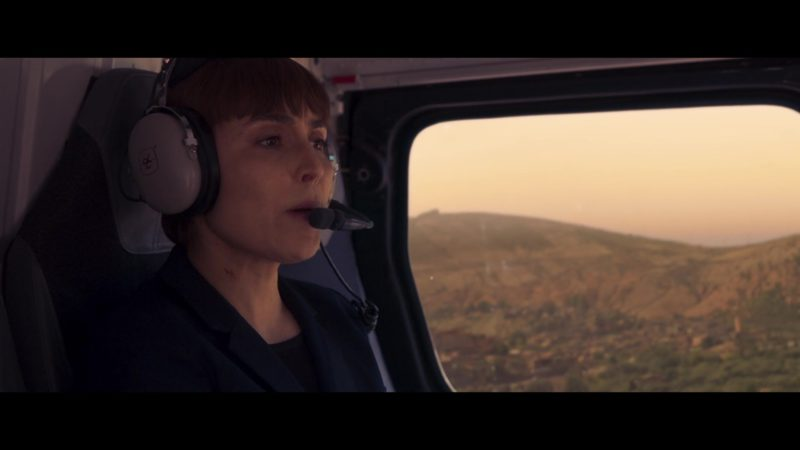 David Clark Headset Used by Noomi Rapace in Close (2019) Movie Product Placement