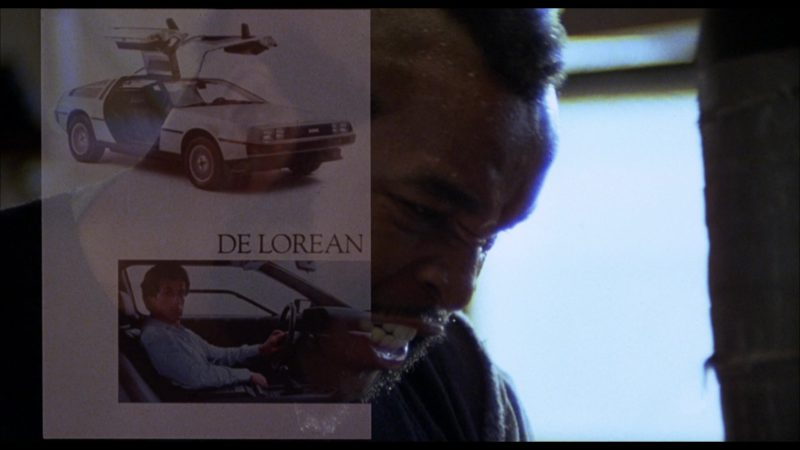 DeLorean DMC-12 Car in Rocky 3 (1982) - Movie Product Placement