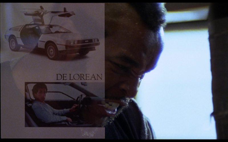 DeLorean DMC-12 Car in Rocky 3