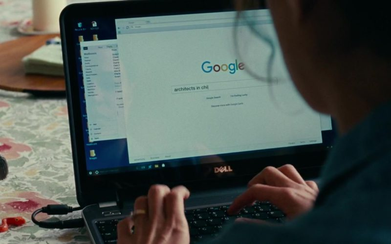 Dell Notebook and Google Search Engine in Widows