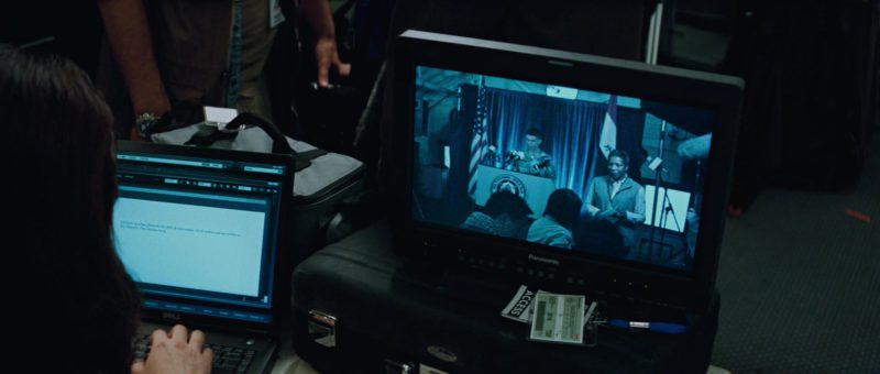 Dell Notebook and Panasonic Monitor in The A-Team (2010) Movie Product Placement